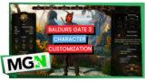 Baldur's Gate 3 – Character customization