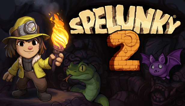spelunky 2 roguelike game