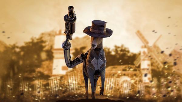 strange indie game goat of duty