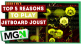 Top 5 reasons to play Jetboard Joust