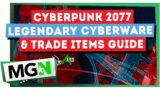 Legendary Cyberware & Trade Items Guide