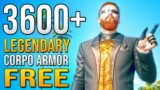 BEST ARMOR – Free Legendary Clothes Location in Cyberpunk 2077 EARLY Build Guide Gameplay!