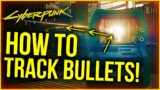 Cyberpunk 2077 – How To See Bullet Trajectory! Ricochet Bullets GUIDE