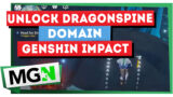 Genshin Impact How To Unlock The Dragonspine Domain & Get To The Top Of The Mountain