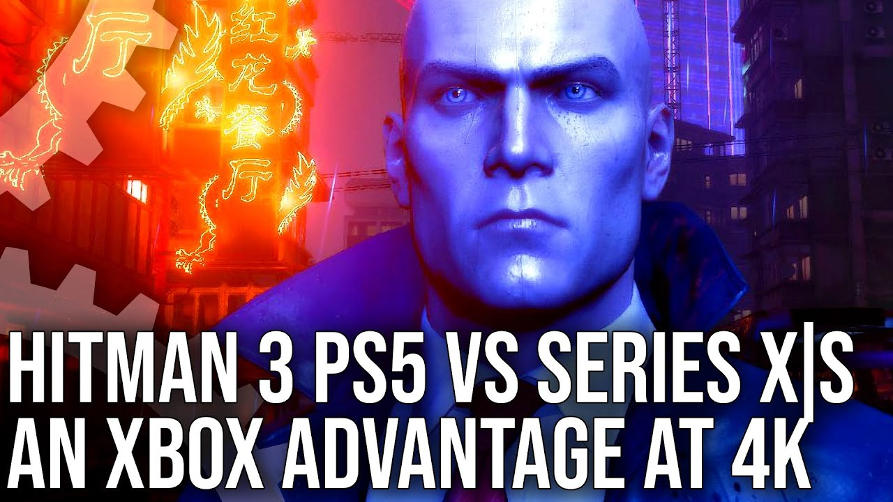 hitman 3 - ps 5 vs xbox series x