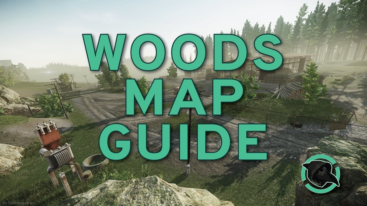 Tarkov Woods Map Guide