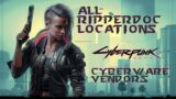 Cyberpunk 2077 – All Ripper Doc Secret Locations