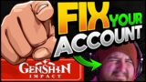 Quick Tips to Improve Your Genshin Impact Account