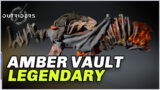 Outriders – AMBER VAULT Legendary Weapon Review