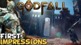 Godfall – First Impressions Review