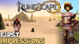 Runescape 3 First Impressions