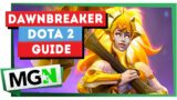 Dawnbreaker Build – New Hero – Dota 7.29