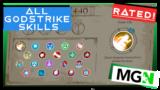 Godstrike – All Skills Rated!
