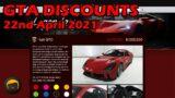GTA Online Discounts, Bonuses & News (22nd April 2021)