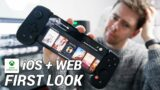 Xbox Cloud Gaming on iOS and Web   First Look At Project xCloud On iPhone