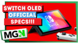 Nintendo Switch – OLED – Official Specs