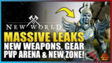 New World LEAKS – New Desert Zone, New Weapons, Armor, PvP Arena, Dungeons