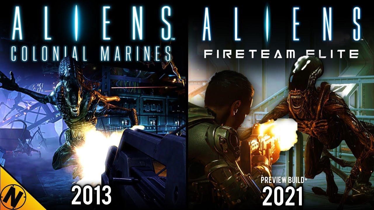 colonial marines vs fireteam aliens