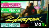 Cyberpunk 2077: All Perks & Skills