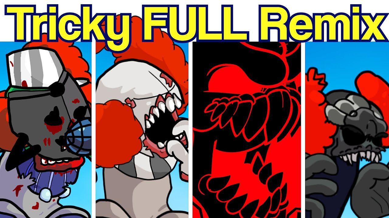 The Full Ass Tricky Remixes