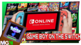 Game Boy is coming to the Nintendo Switch!