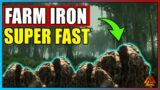 New World – Iron Mining Guide
