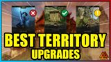 New World: The BEST Territory Standing Upgrades! Avoid THESE Mistakes!