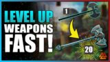 New World – How To Level Up Weapons Fast Guide